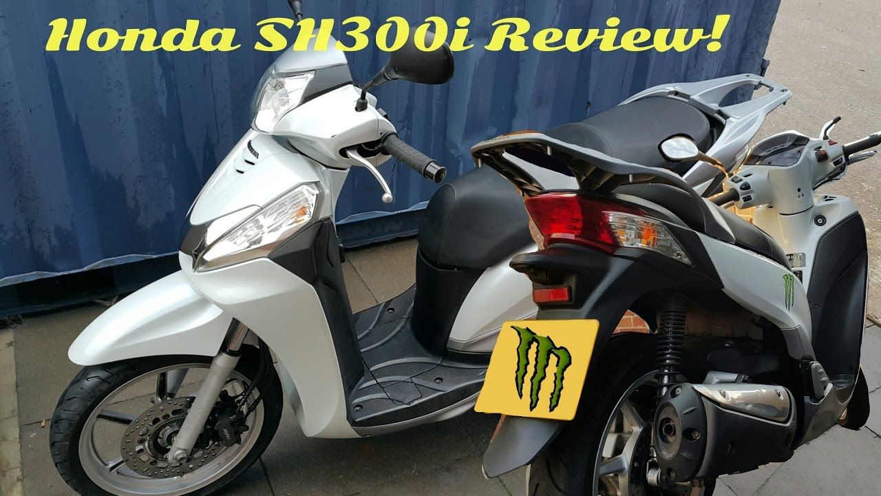 Honda Sh300i Review By Fazer12779 Youtube