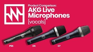 AKG Live Microphones: Vocal Comparison – with Emily Williams