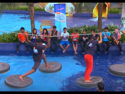 Made for Each Other I Ep 12 - Balancing floating boats I Mazhavil Manorama