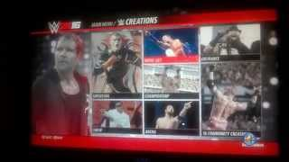 W2k16 How to turn on blood and upload your face photo to WWE 2K16?