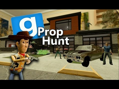 Gmod Prop Hunt Funny Moments - Pizza Tricycle (Garry's Mod)
