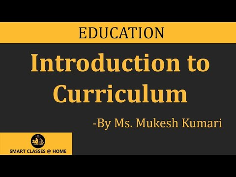 What Is Curriculum Lecture For B.Ed By Mukesh Kumari