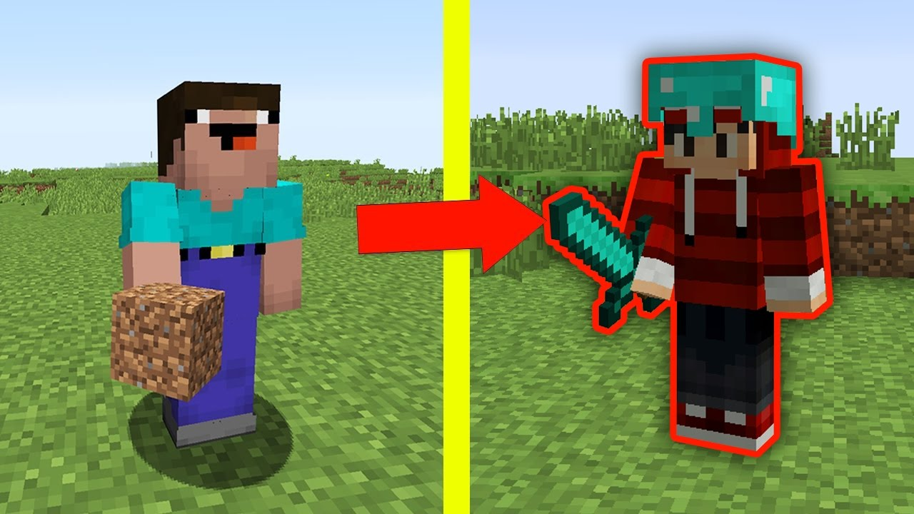 NOOB vs MINECRAFT - MINGUADO VS NOOB !!!