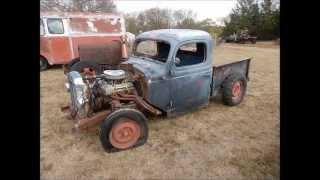 2015-11-07 Bell Rat Rod, Vintage Car & Truck Auction (lot 07 - 1941 Dodge Rat Rod Pickup Project)