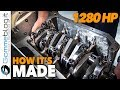 BMW F1 Car BT52 1280 HP - Engine Assembly (HOW IT'S MADE - CAR FACTORY)