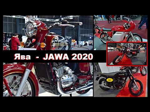 Новая Ява 350 - Новая Ява 300 - Новые мотоциклы Ява - New JAWA Motorcycles Model 2020