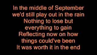 Chris Daughtry - September [ with lyrics ]