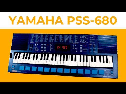 "Yamaha Portasound PSS-680 FM keyboard demo - ""Splendid Larryo"""
