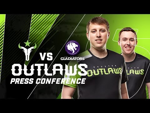 """""""How Do You Say Your Name?"""" - Outlaws Press Conference S4W2 (LA Gladiators)"""