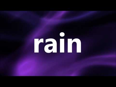 Bishop Paul S. Morton - Let It Rain (Lyrics)