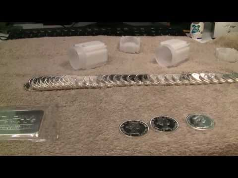 Silver Price Discussion And Unboxing Canadian Silver Dollars