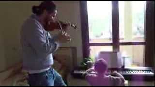 Я плакала от ТАКОГО  джаза. Сын и муж исполняют...