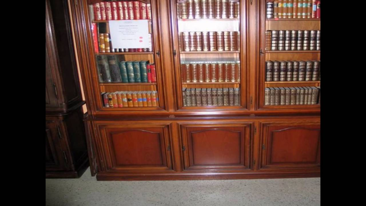 antique bookshelves with glass doors - Antique Bookshelves With Glass Doors - YouTube