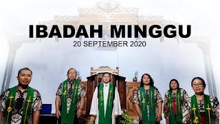 Ibadah Minggu 20 September 2020 untuk Umum