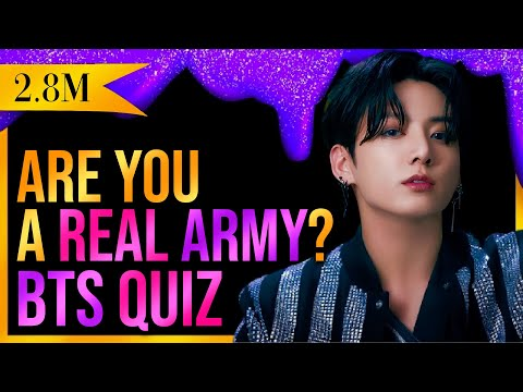 BTS QUIZ THAT ONLY REAL ARMYS CAN PERFECT