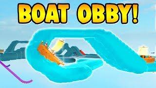 ROBLOX Bateau Obby ( Nouvelle mise à jour! )