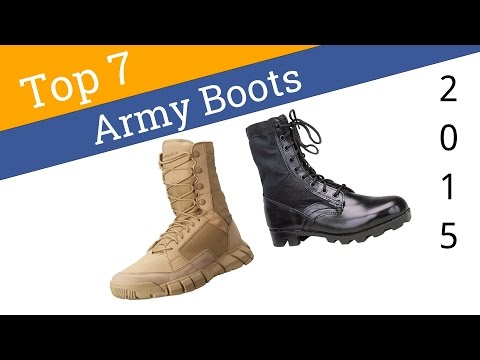 7 Best Army Boots 2015