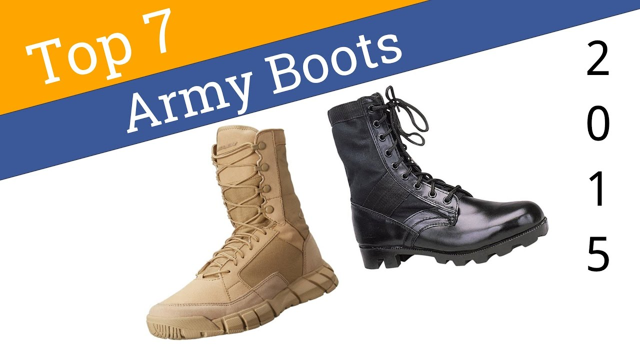 7 Best Army Boots 2015 - YouTube