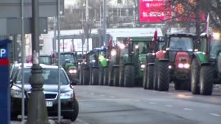 Strajk Rolników 2012-2013-Najazd Na Szczecin/HD/