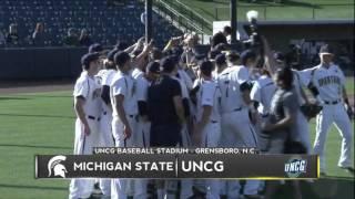 uncg baseball vs michigan state