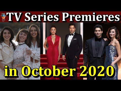 Turkish TV Series Premieres in October 2020
