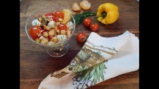 """Праздничный салат """"Новогодний""""( салат-рецепт) salad """"New Year"""" (salad-recipe)"""