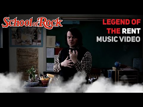 Download Legend of The Rent (You're Not Hardcore) [Music Video] - Jack Black - Full Version - School of Rock