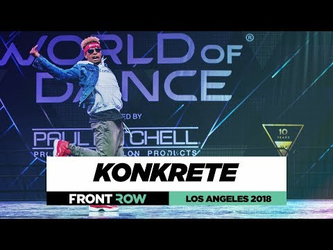 Konkrete |  FrontRow | World of Dance Los Angeles 2018 | #WODLA18