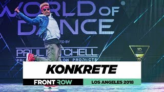 Baixar Konkrete | FrontRow | World of Dance Los Angeles 2018 | #WODLA18