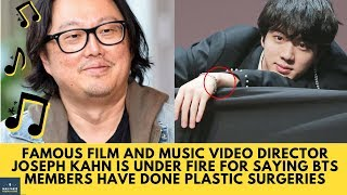 [HOT] The Director Of Taylor swift Mv Joseph Kahn Says BTS Members have Done Plastic Surgeries