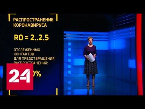Россиян будут предупреждать о контактах с зараженными коронавирусом по СМС - Россия 24