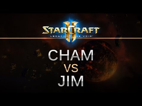 StarCraft 2 - Legacy of the Void - Cham (Z) v Jim (P) on Prion Terraces