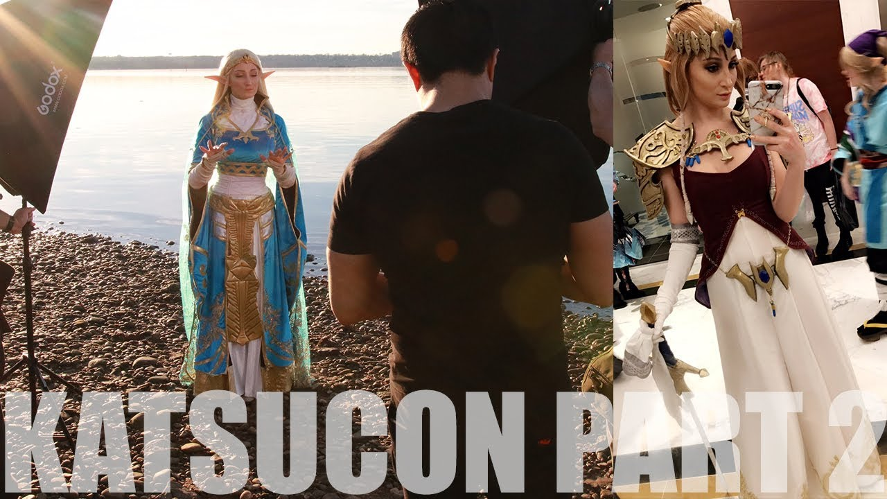 Katsucon 2018 Part 2 Twiight Princess Zelda And Botw Queen Zelda