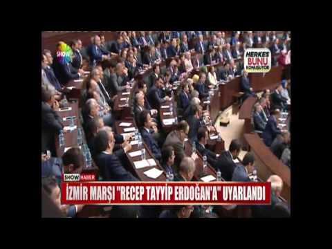 """İzmir Marşı """"Recep Tayyip Erdoğan'a"""" uyarlandı"""