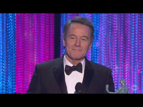 Bryan Cranston - Dont Piss In The Soup Trump - Sag Awards 2017