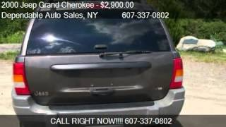 2000 Jeep Grand Cherokee Laredo 4WD - for sale in Norwich, N