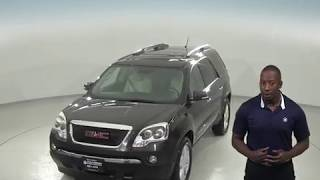 C97378RO - Used, 2007 GMC Acadia, Black, SUV, Test Drive, Review, For Sale -
