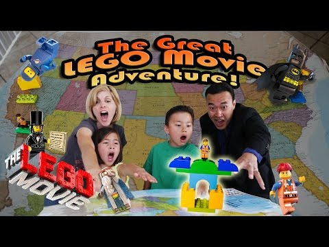 The GREAT LEGO MOVIE ADVENTURE! Episode 1 - LEGOLAND