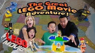 The GREAT LEGO MOVIE ADVENTURE! Episode 1 - LEGOLAND