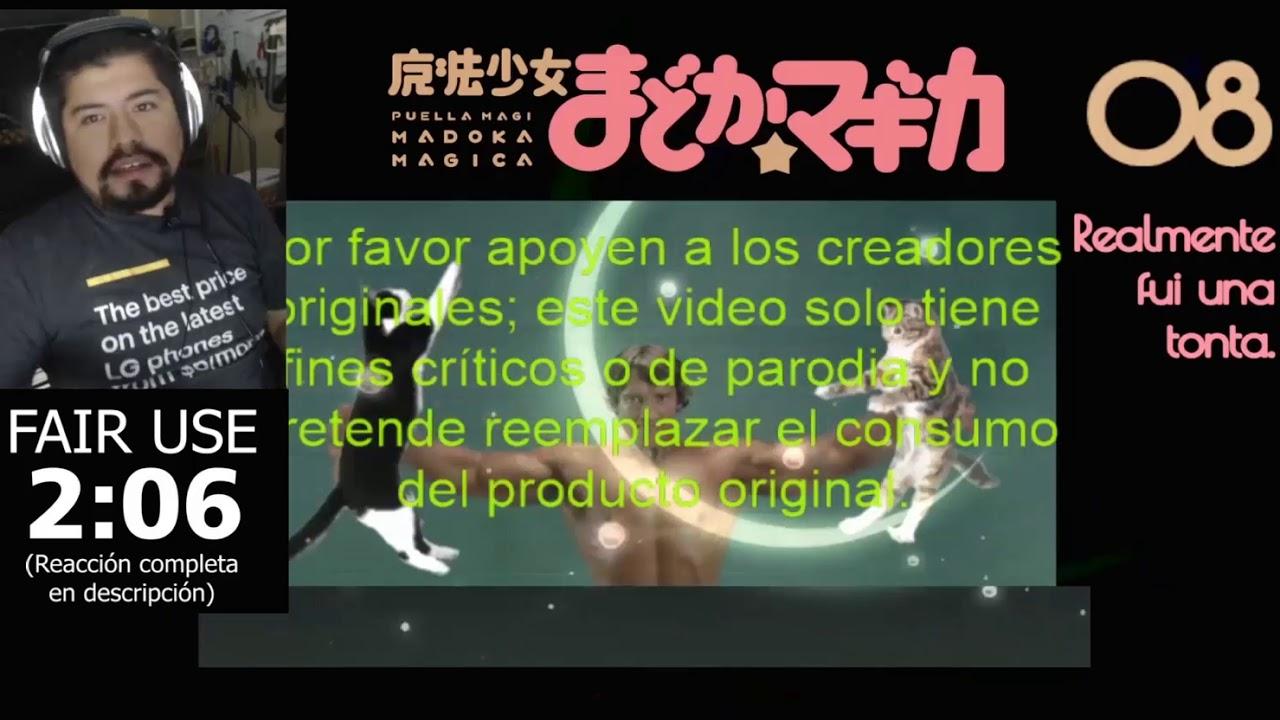 Ser humano común y corriente reacciona a Puella Magi Madoka Magica  Episodio 8 (Editado)