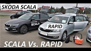 Skoda SCALA Vs. RAPID [Pierwsze Wrażenia] TEST PL