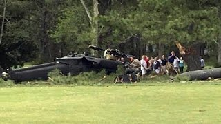 Deadly Blackhawk crash at golf course