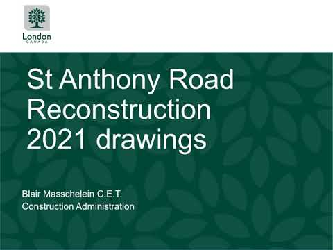 St. Anthony Road Reconstruction Drawings
