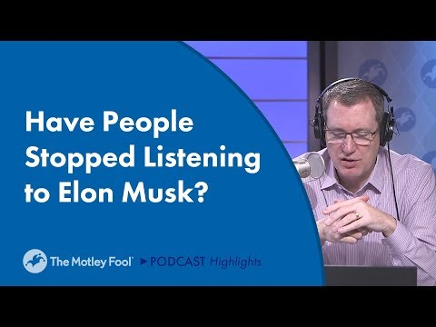 Have People Stopped Listening to Elon Musk?