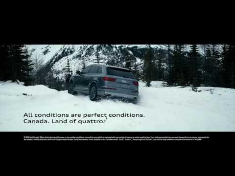Audi quattro All conditions are perfect conditions   Audi Canada