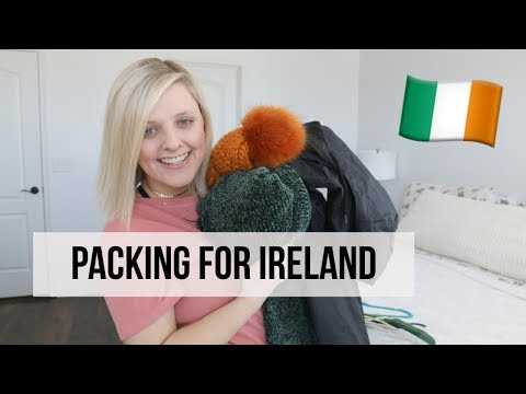 PACKING FOR IRELAND: What I Packed!