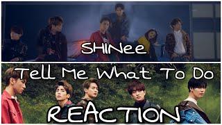 SHINee 샤이니 'Tell Me What To Do' MV - REACTION