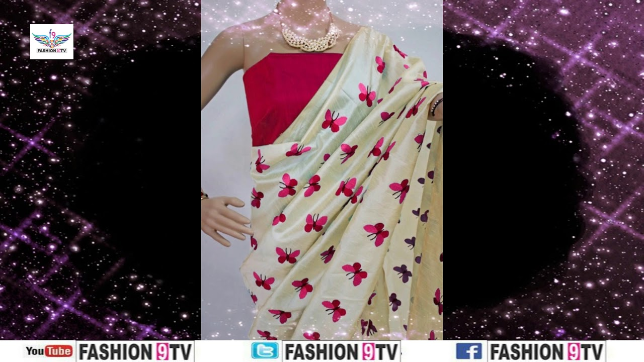 59a3718bd Latest Chanderi Silk Sarees Designs With Price