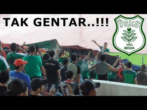 Mantap! Dukungan SMECK Hooligan Untuk PSMS Medan Ditengah2 Ribuan BONEK