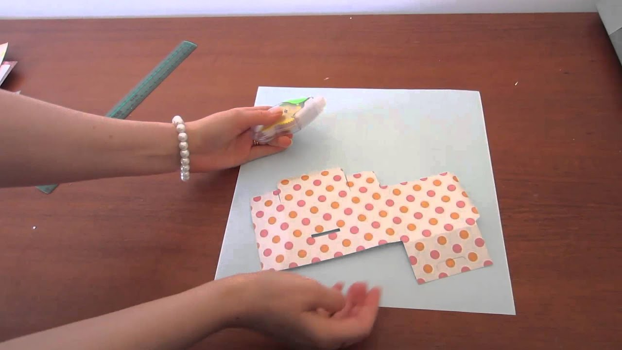 fold a soap box papercraft template youtube